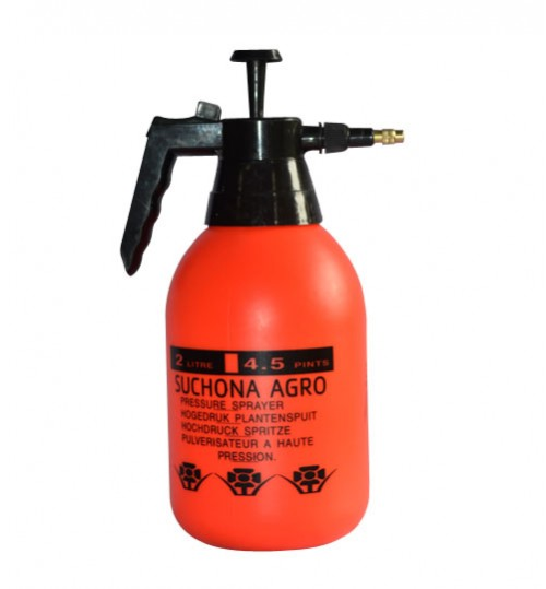 Orange Pressure sprayer 2 Liter (One Year Warranty)