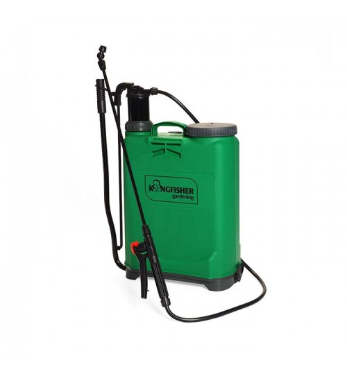 Pressure Pump Sprayer Big 16 Liter Knapsack For Bleaching Powder Disinfection Virus, Bacteria & Garden Use (one year warranty) Virgin PVC Material Best Quality In Market