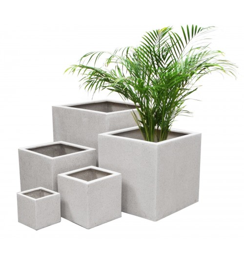 Exclusive Planter - PVC White Waterproof Pot